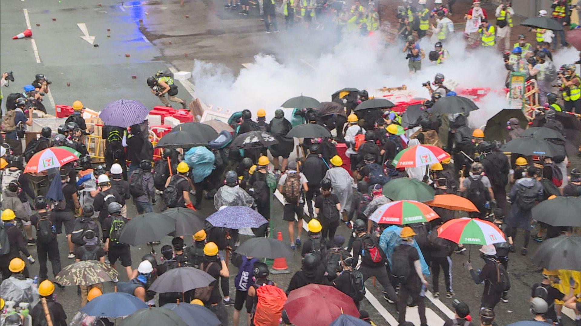中聯辦:反中亂港勢力未清 仍有人美化暴力行為