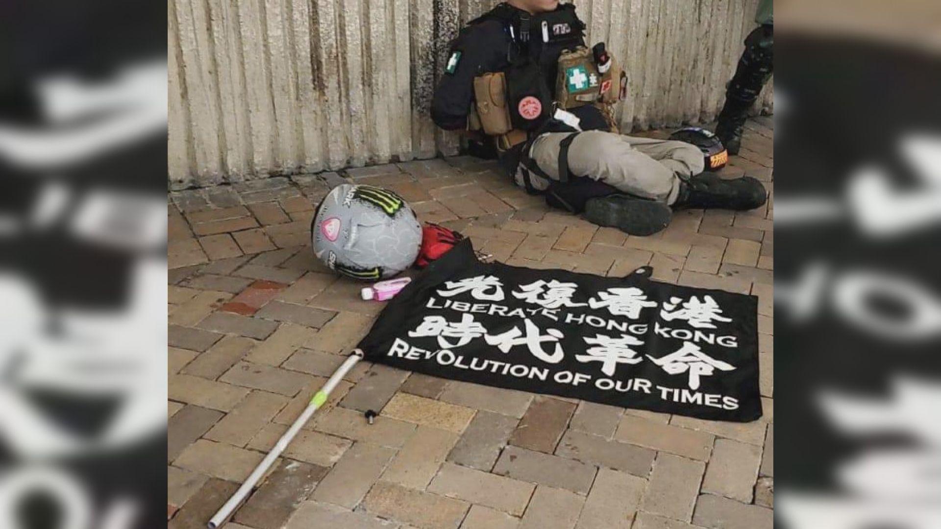 周三10人涉違國安法被捕 4人涉藏有港獨標語物品