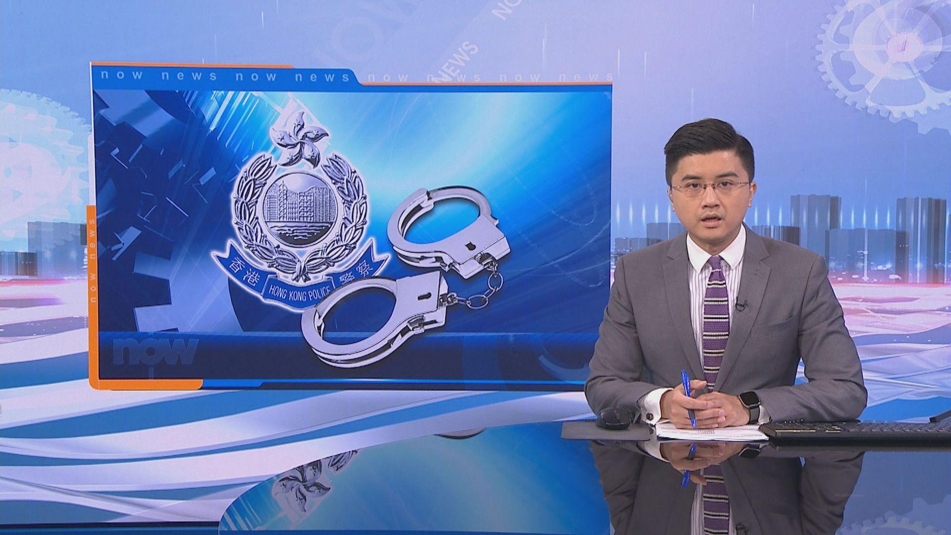 警方就壹傳媒案至今拘九人 包括前學民思潮成員