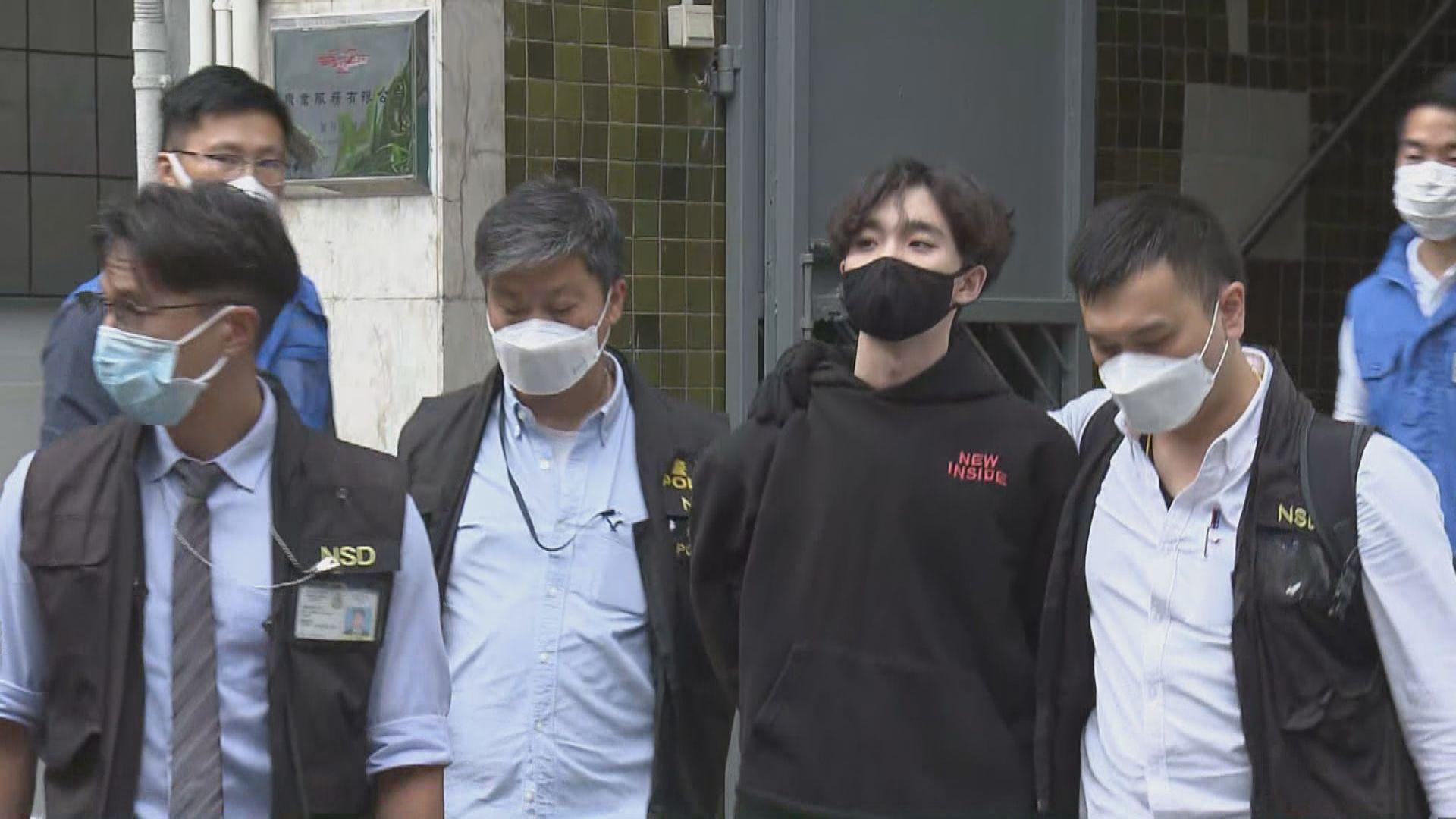 賢學思政召集人王逸戰等兩人遭國安處拘捕