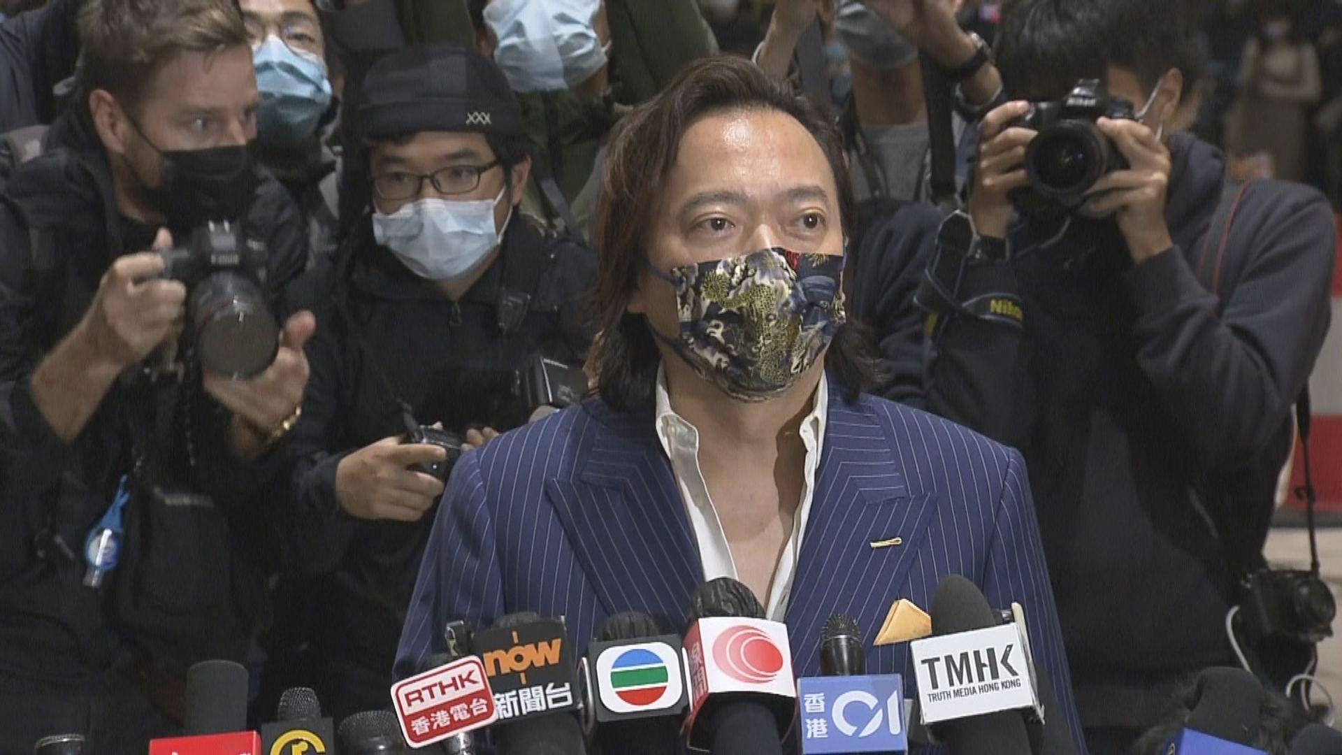 劉偉聰:感謝外界關心 希望其他被告人保釋能早日獲批