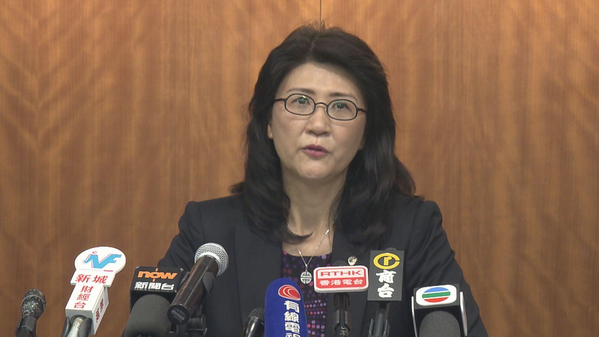律師會彭韻僖:很高興中央聽取意見國安法不具追溯力