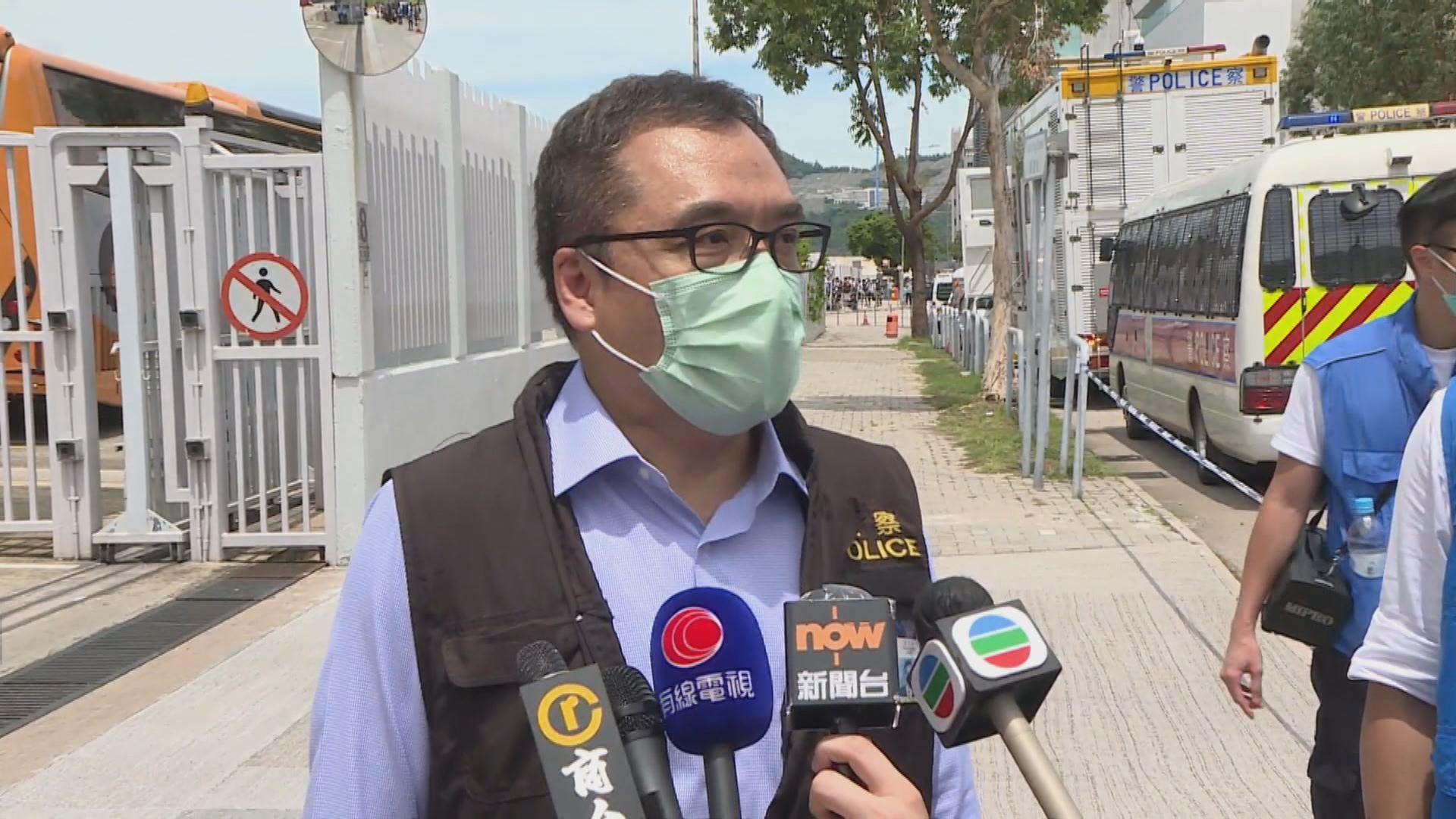 李桂華指根據法庭手令搜查 避搜新聞材料