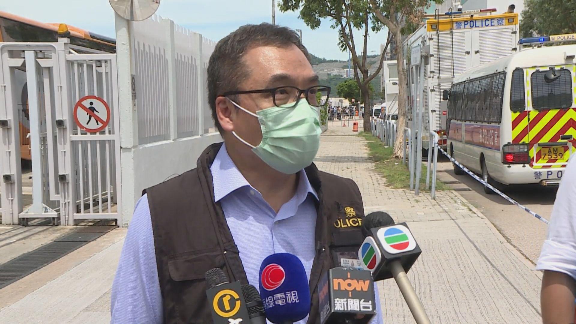 李桂華:搜查編採部是由於被捕者辦公室位於同一樓層