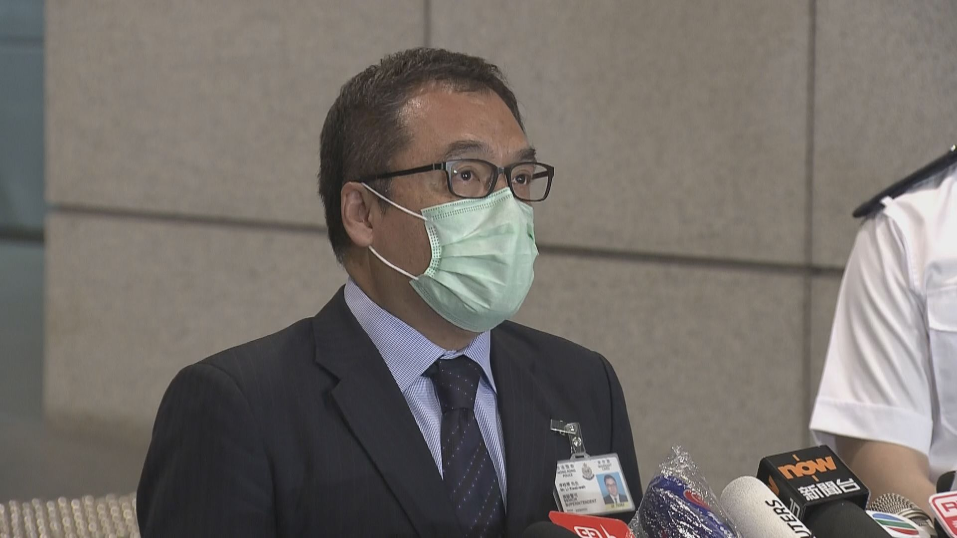 警拘六人 涉促外國制裁香港及支持有關組織