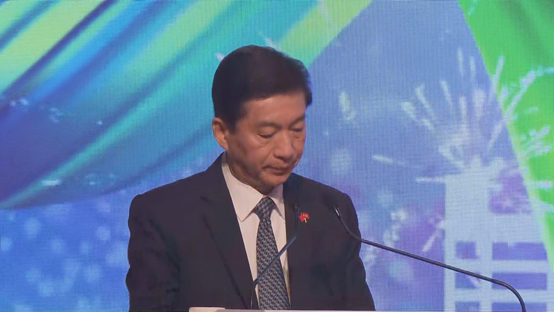 駱惠寧:港區國安法是保障絕大多數人安全自由的守護神
