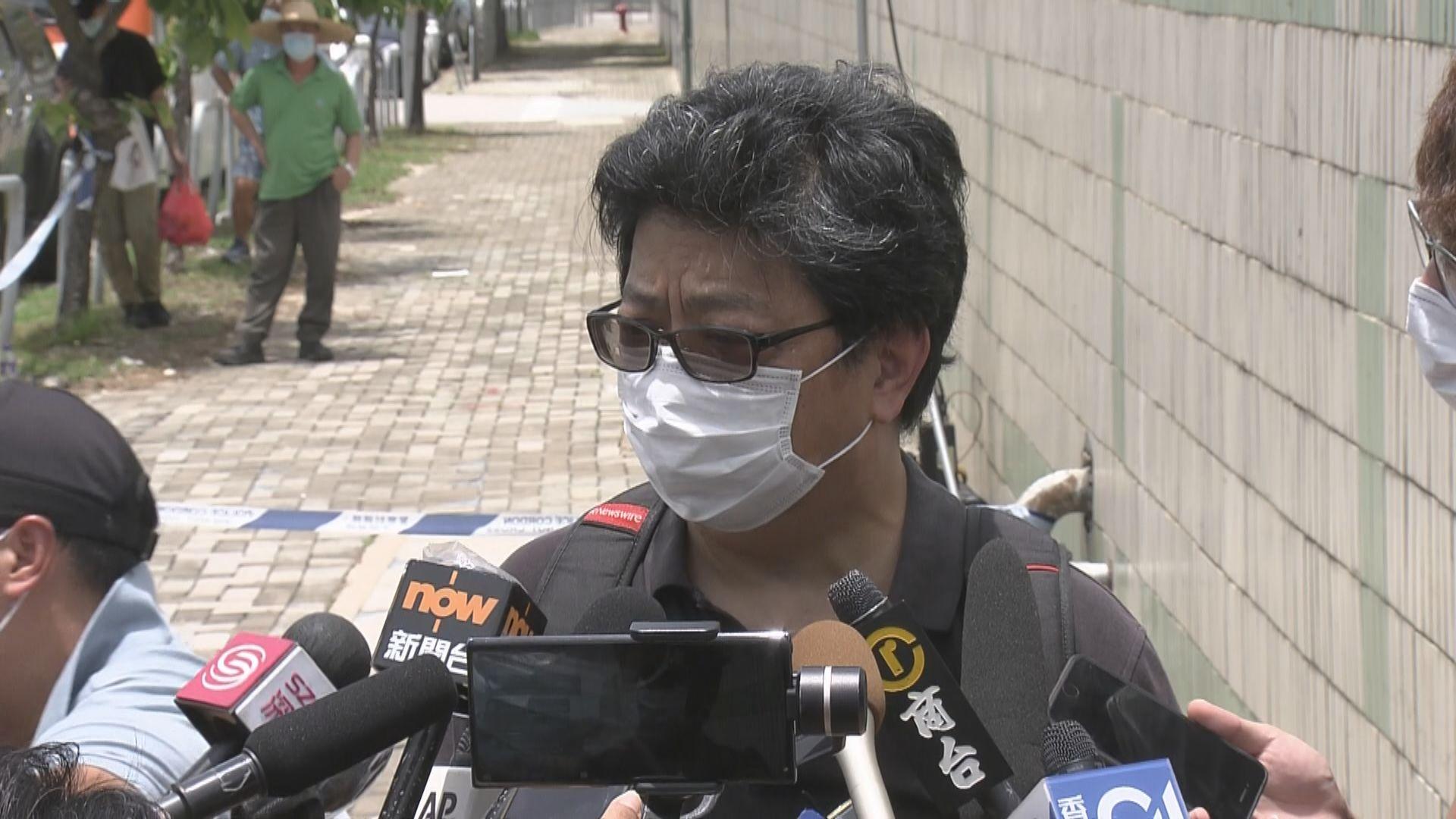 警方拒絕港台路透社等媒體壹傳媒大樓外採訪
