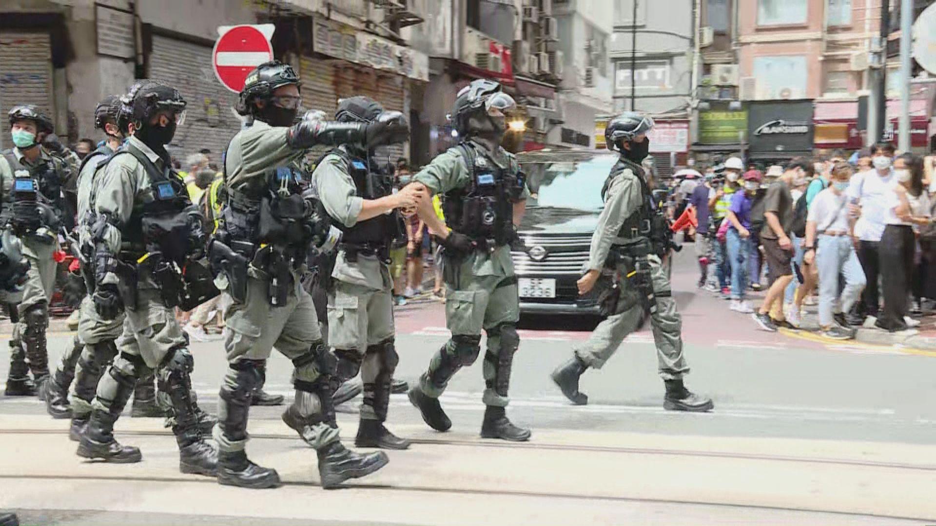 李家超:警員有合理相信可按國安法拘捕、調查及搜證