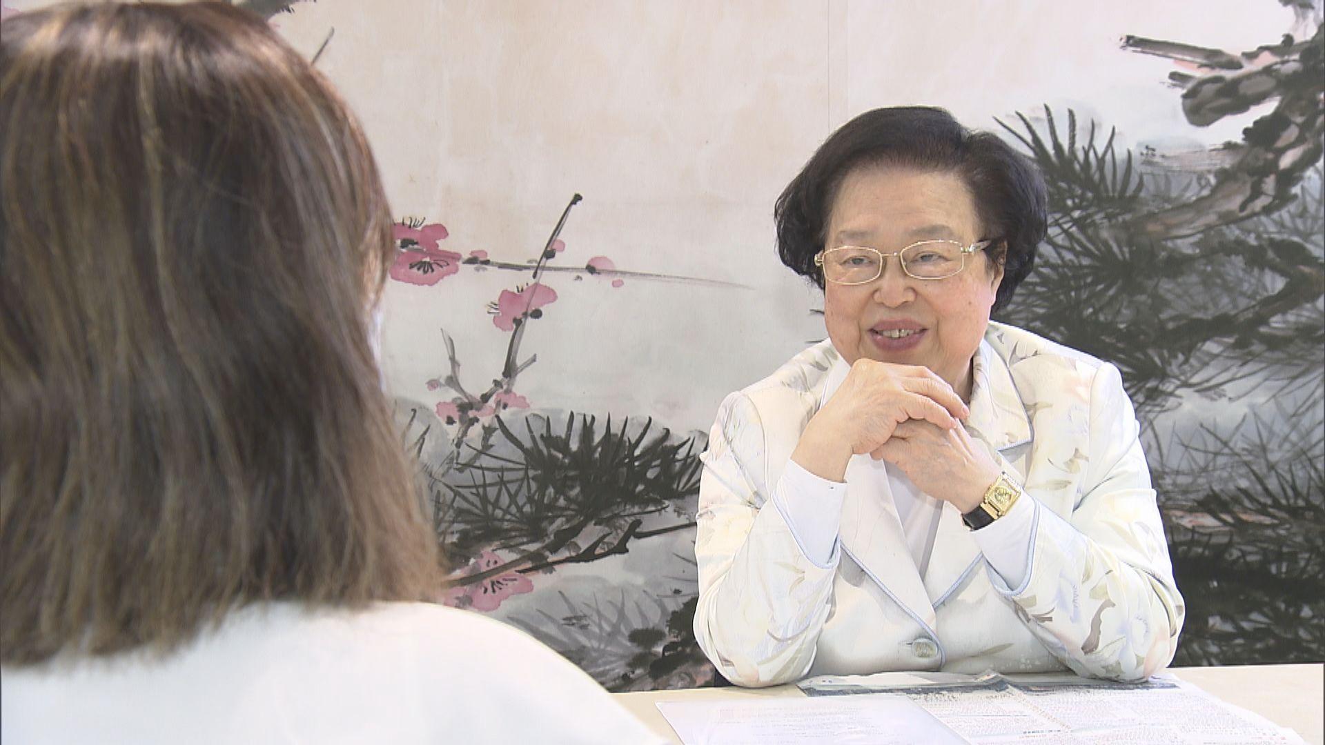 譚惠珠:國安法非一個行為就能入罪