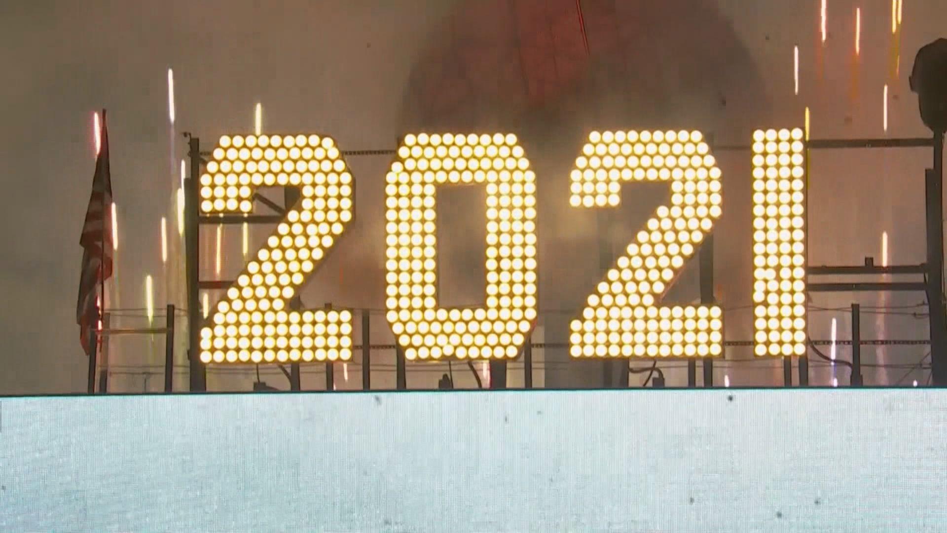 【新的一年】細看各地如何迎接2021年