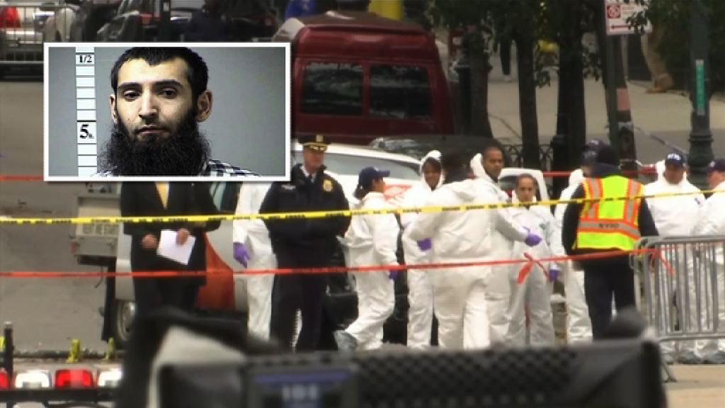 紐約恐襲 疑犯供稱受伊斯蘭國影片啟發施襲