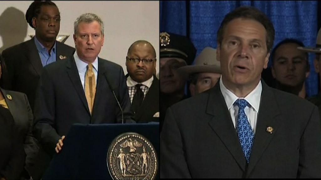 紐約州長與市長就露宿者問題頻交鋒