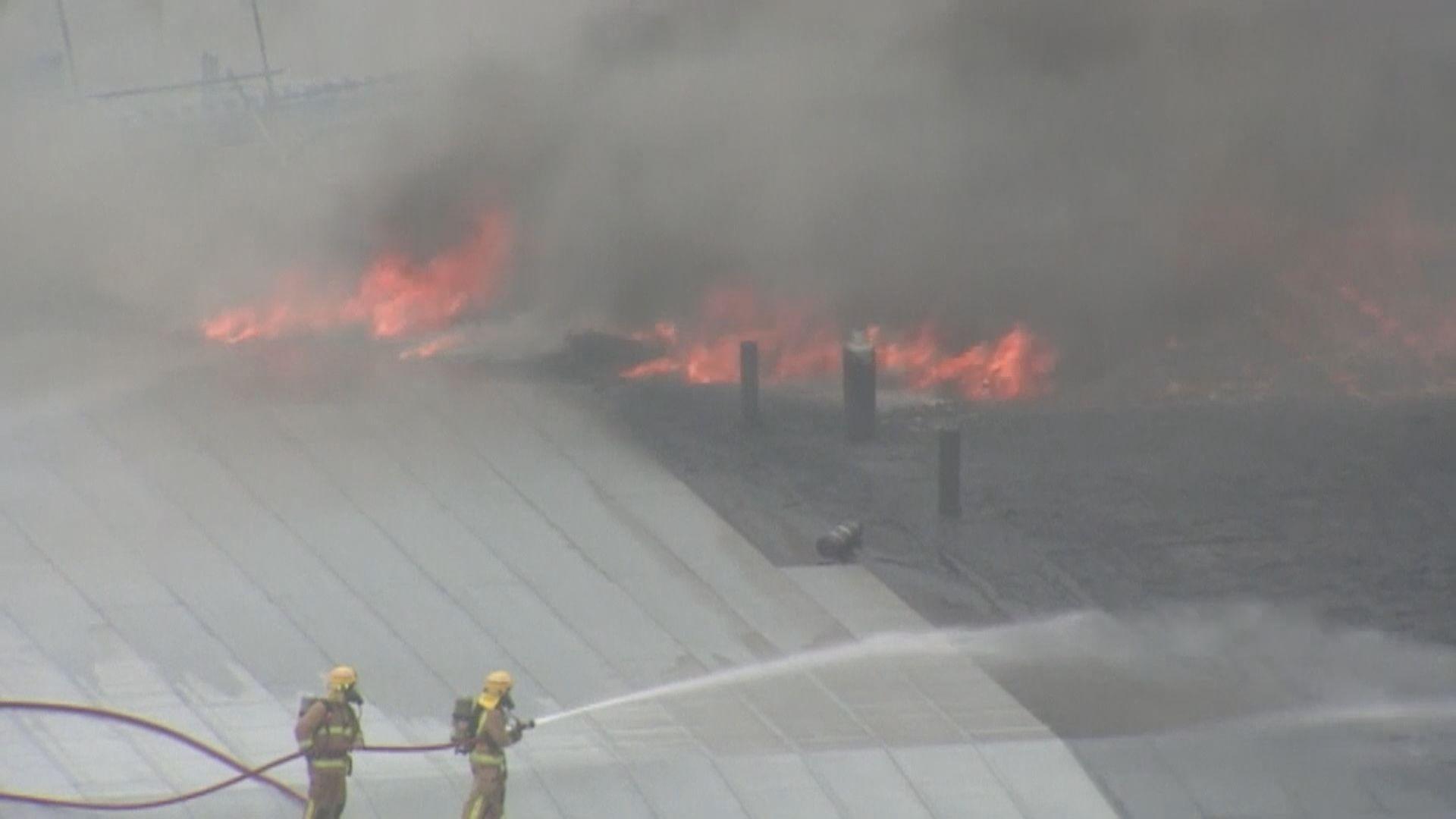 新西蘭會議中心工地火警最少一傷