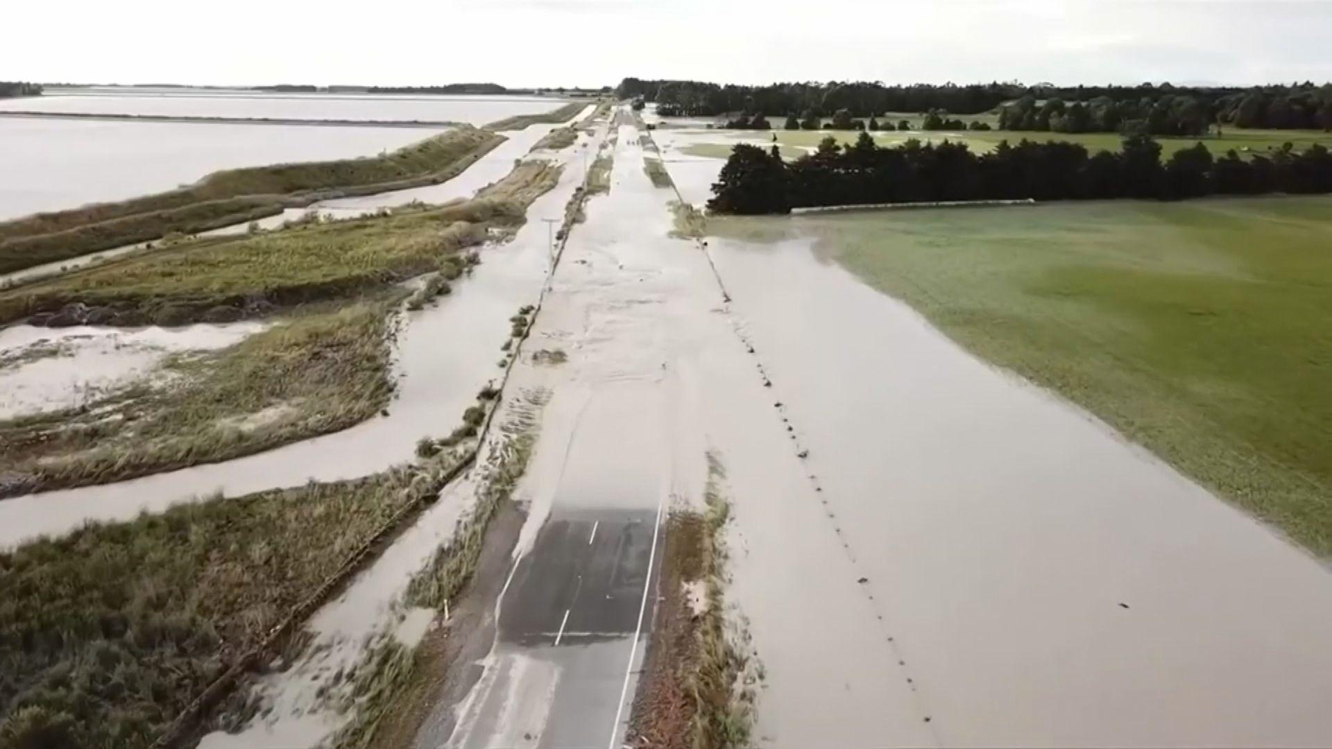 新西蘭暴雨成災 近千名旅客被困南島小鎮