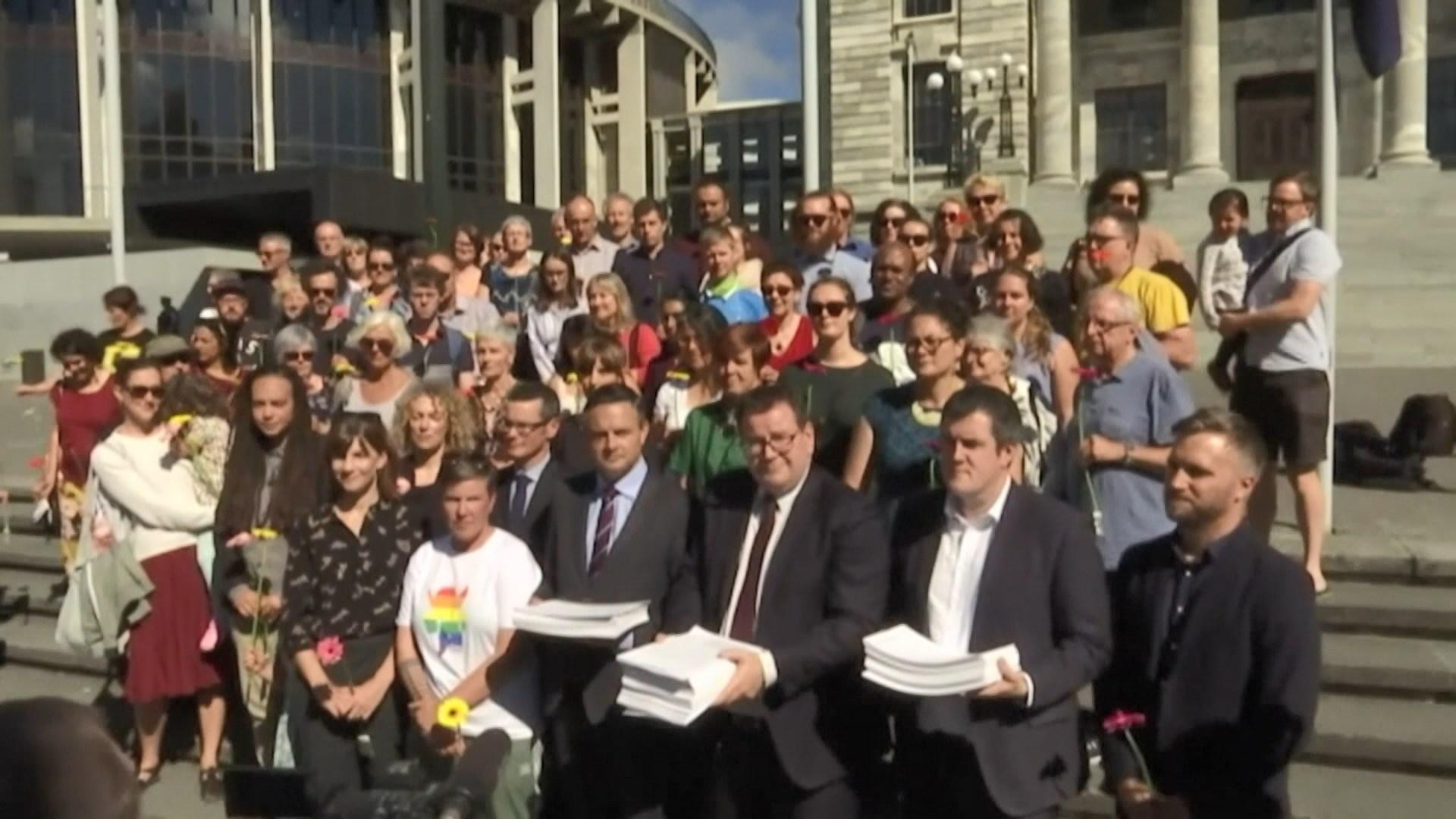 新西蘭數萬人聯署支持加強槍械管制
