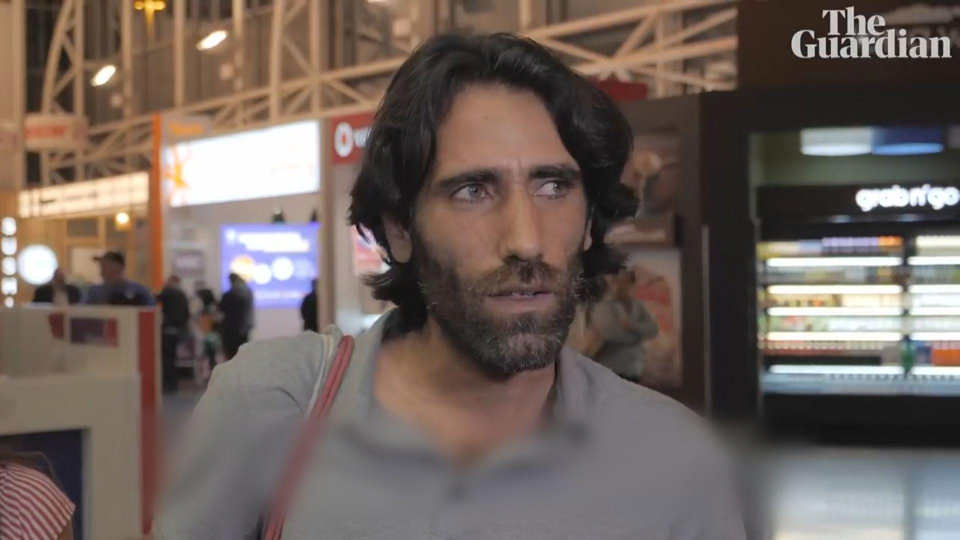 伊朗記者布沙尼抵新西蘭重獲自由
