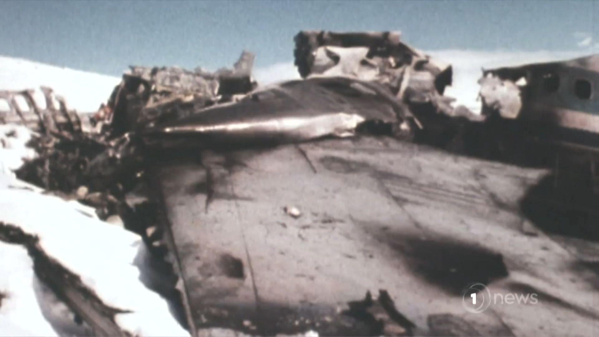 新西蘭政府為40年前南極洲空難道歉