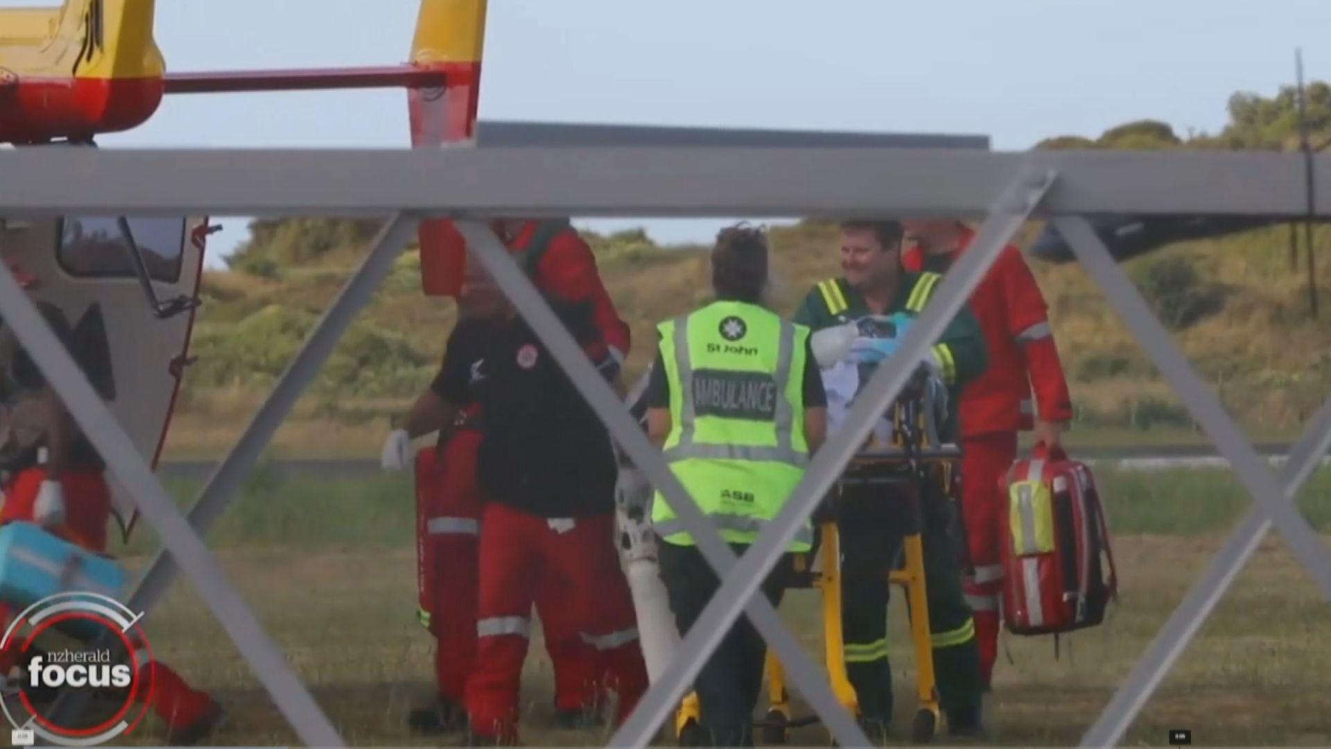 新西蘭懷特島火山爆發 大部分傷者七成皮膚嚴重灼傷