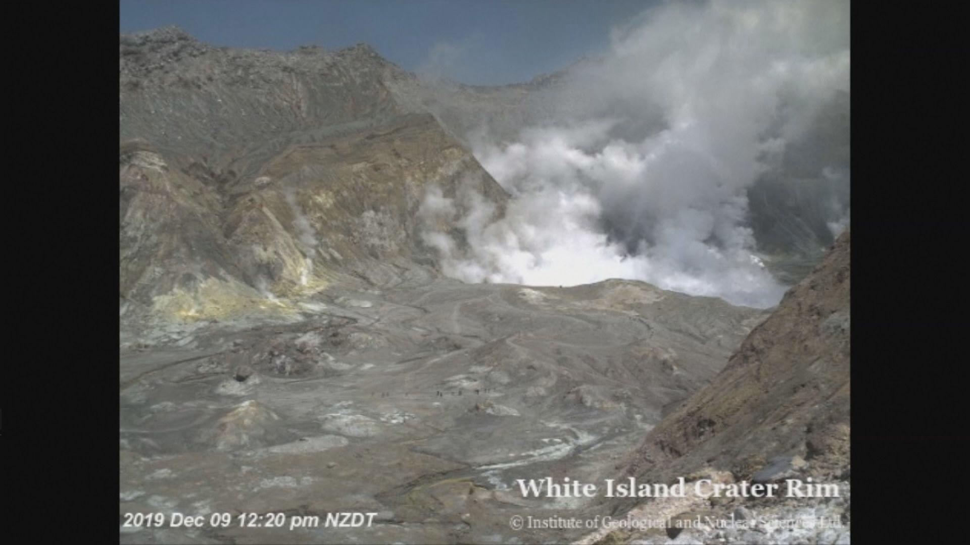 新西蘭懷特島火山爆發失蹤者包括中國人