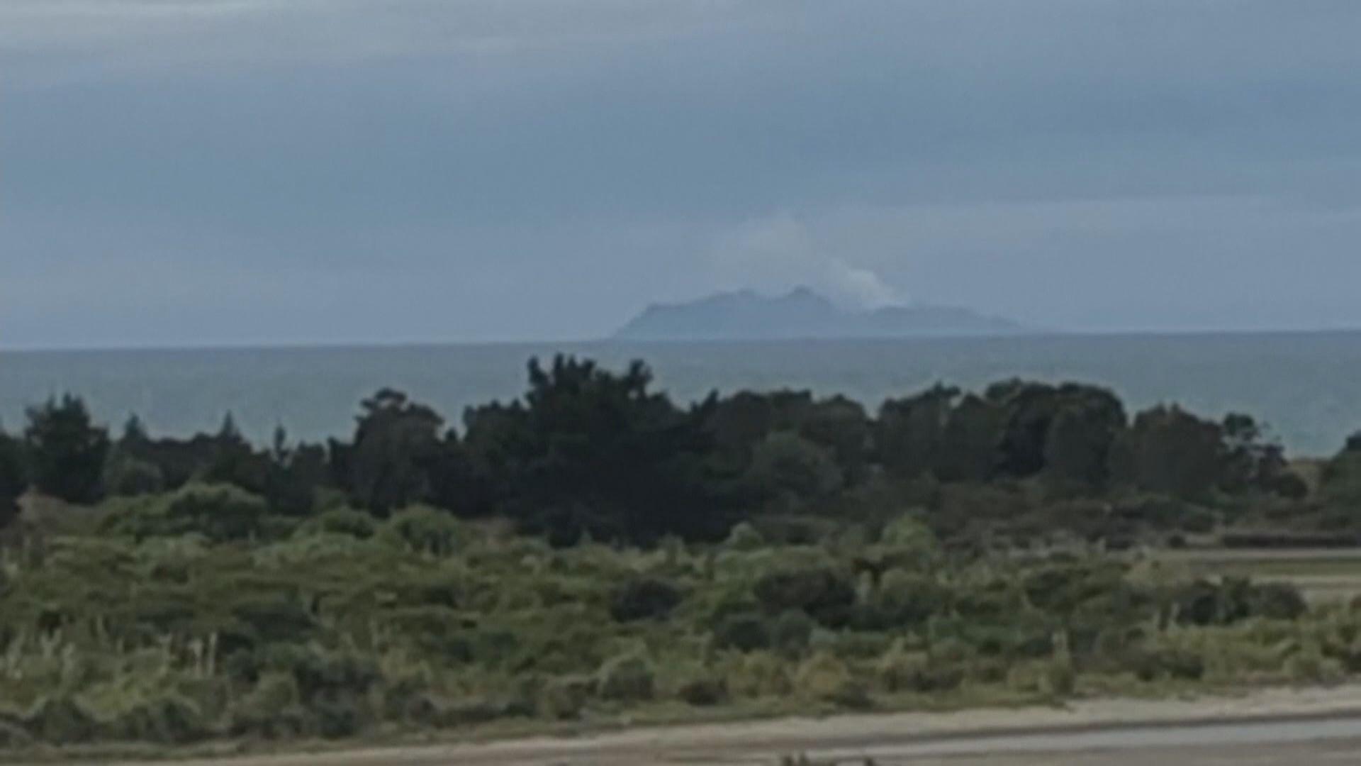 新西蘭懷特島火山震動加劇妨礙搜索