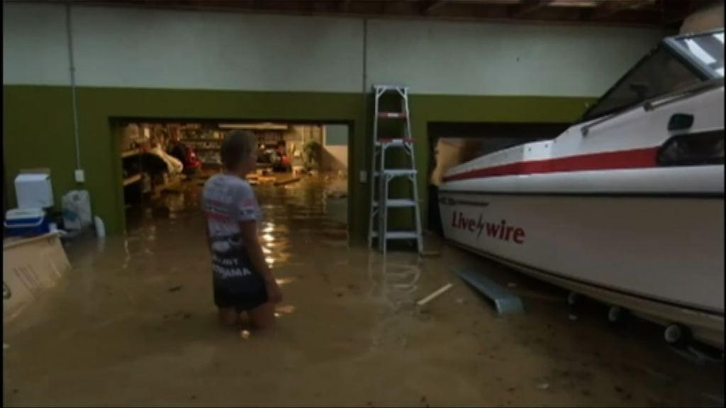 風暴吉塔吹襲新西蘭居民被困