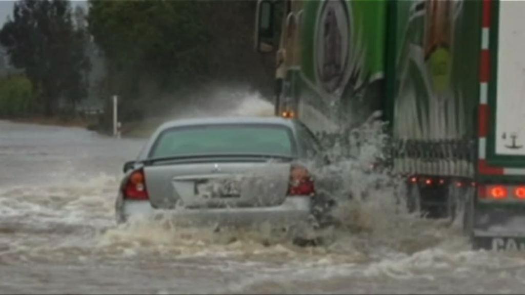受暴風雨吹襲基督城進入緊急狀態