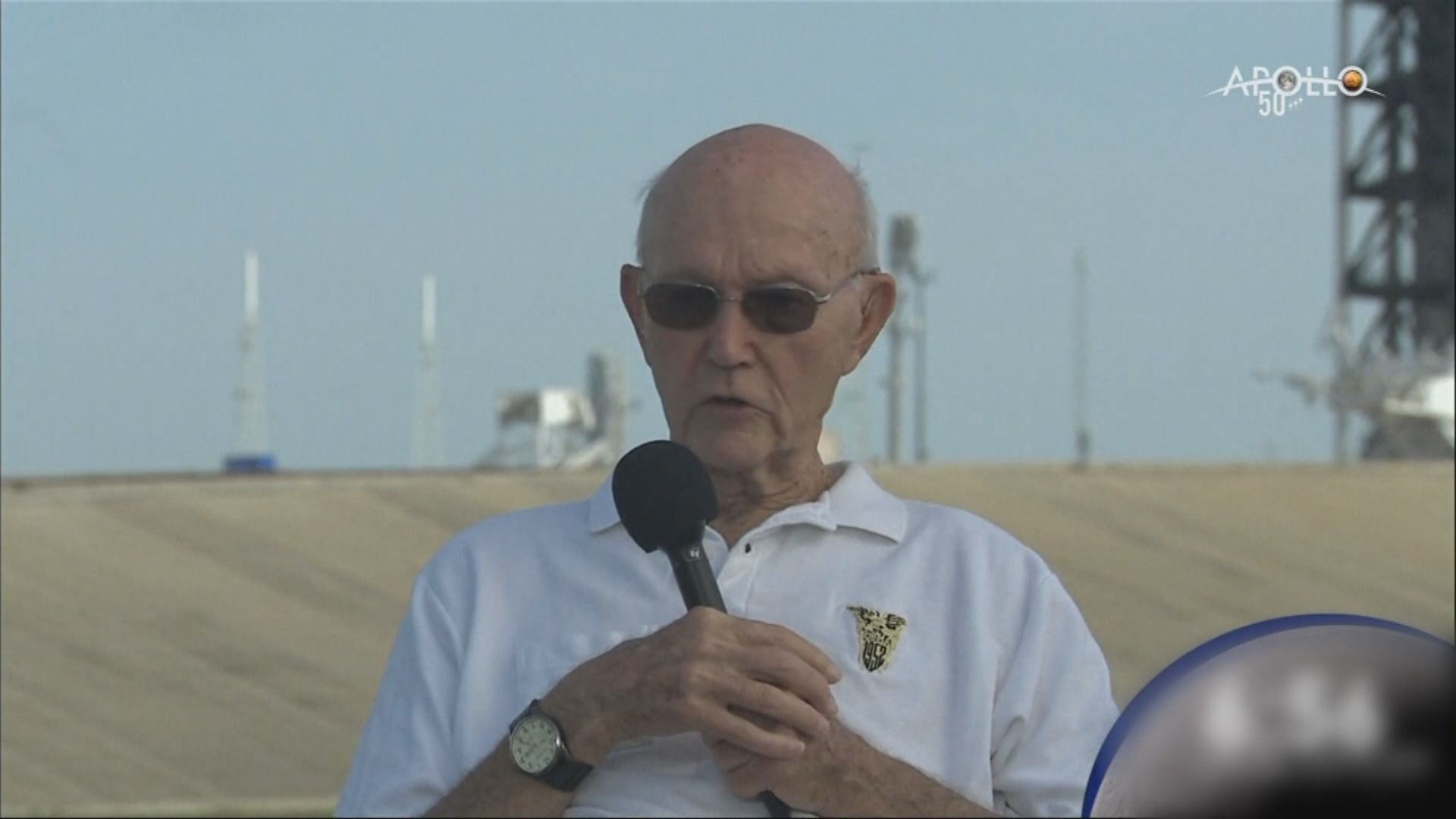 美國阿波羅11號登月太空人科林斯病逝 享年90歲