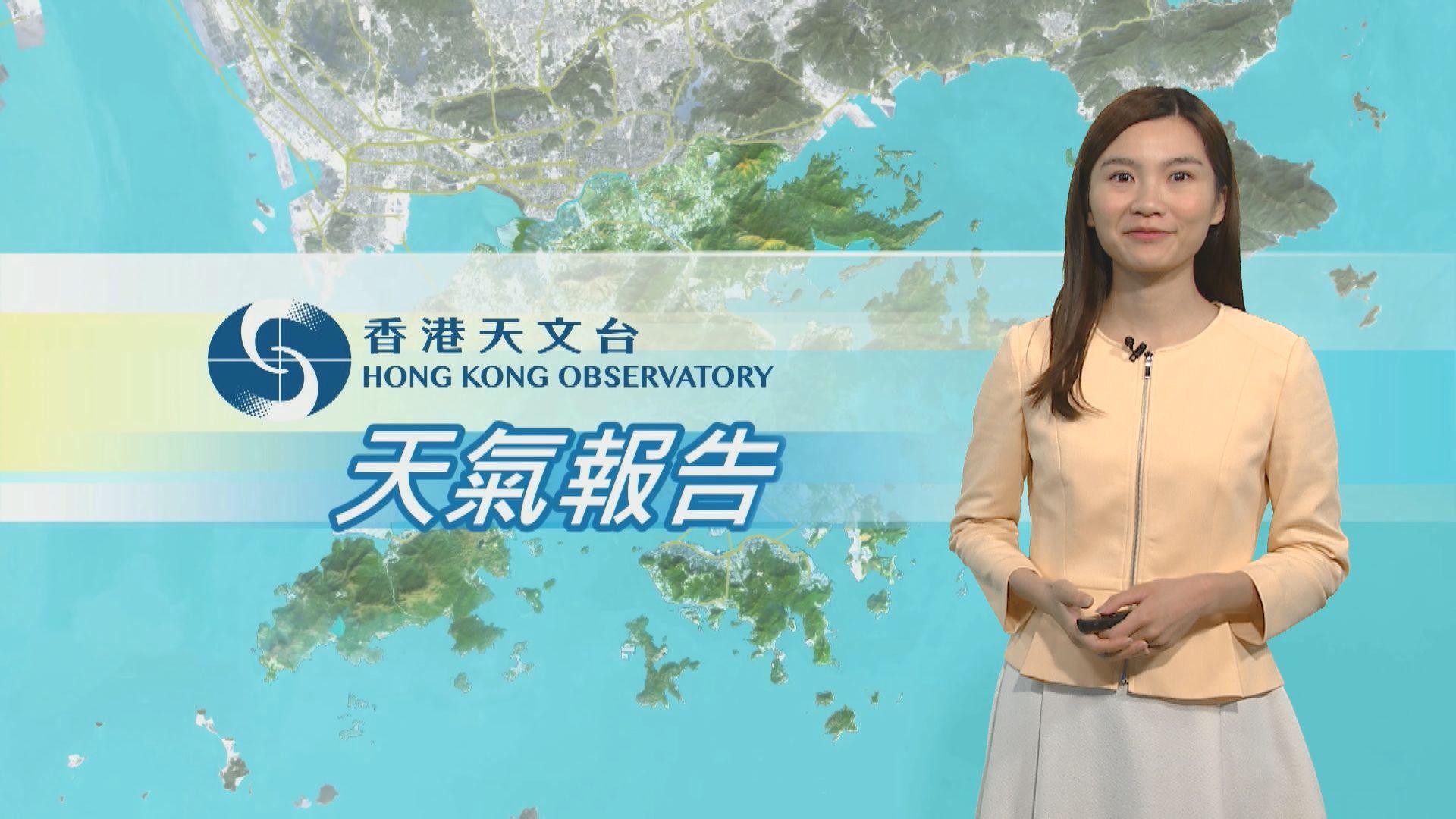 【天氣報告】(10月18日)