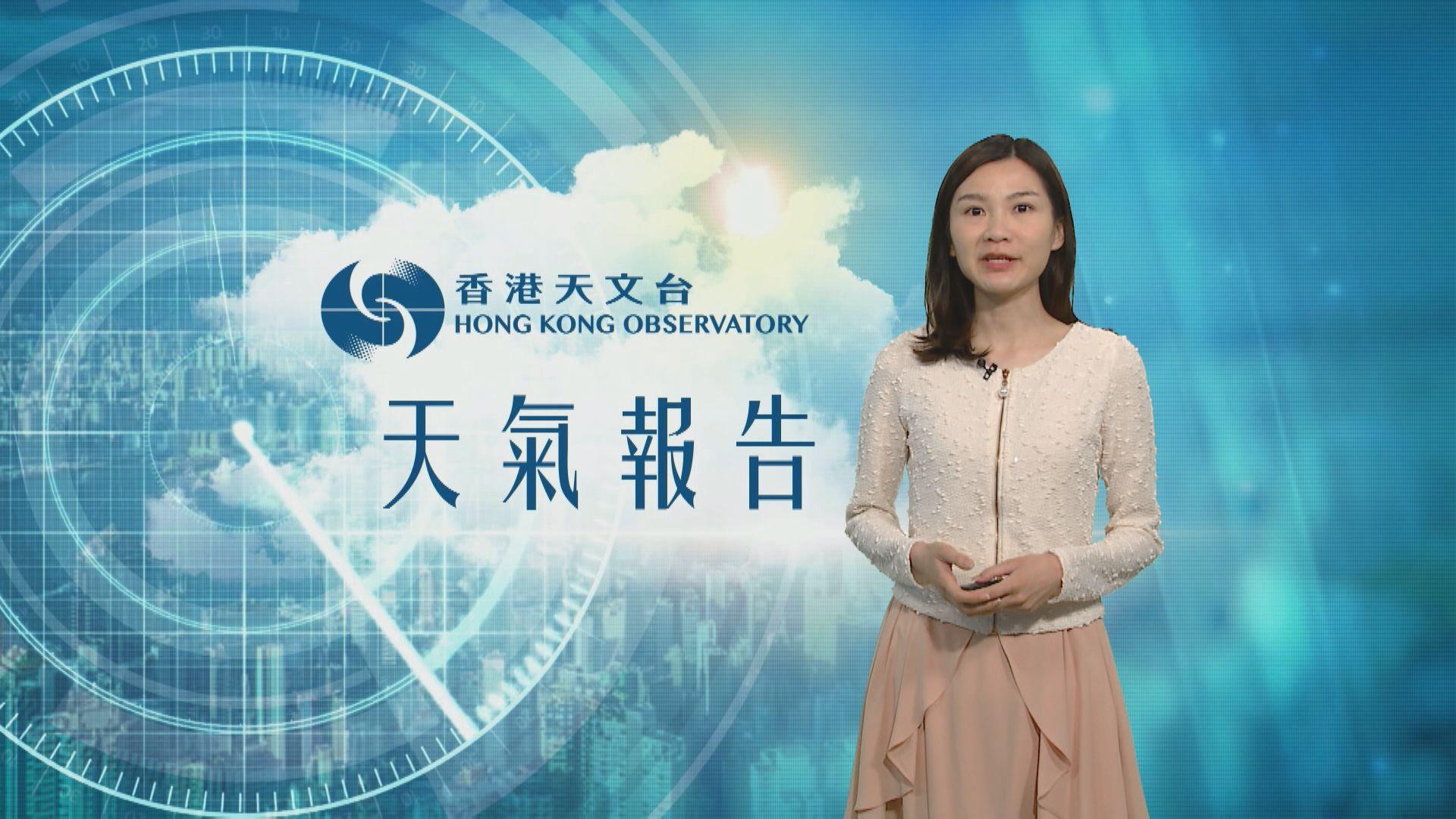 【天氣報告】(4月19日)