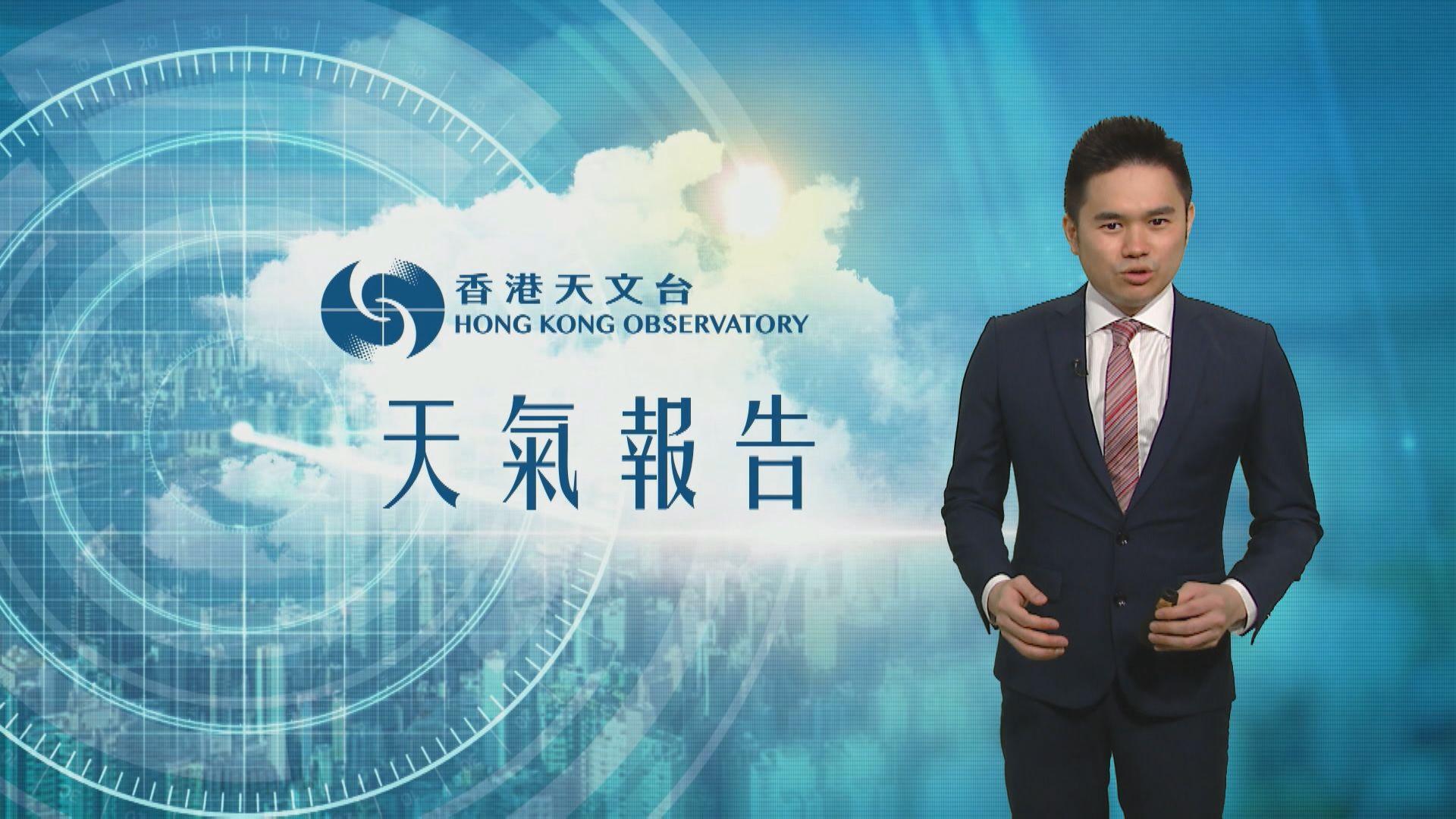 【天氣報告】(5月18日)