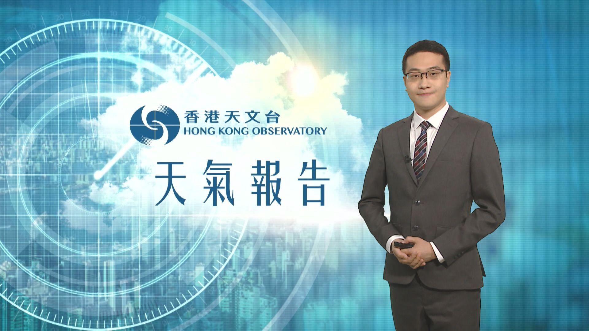 【天氣報告】(5月22日)