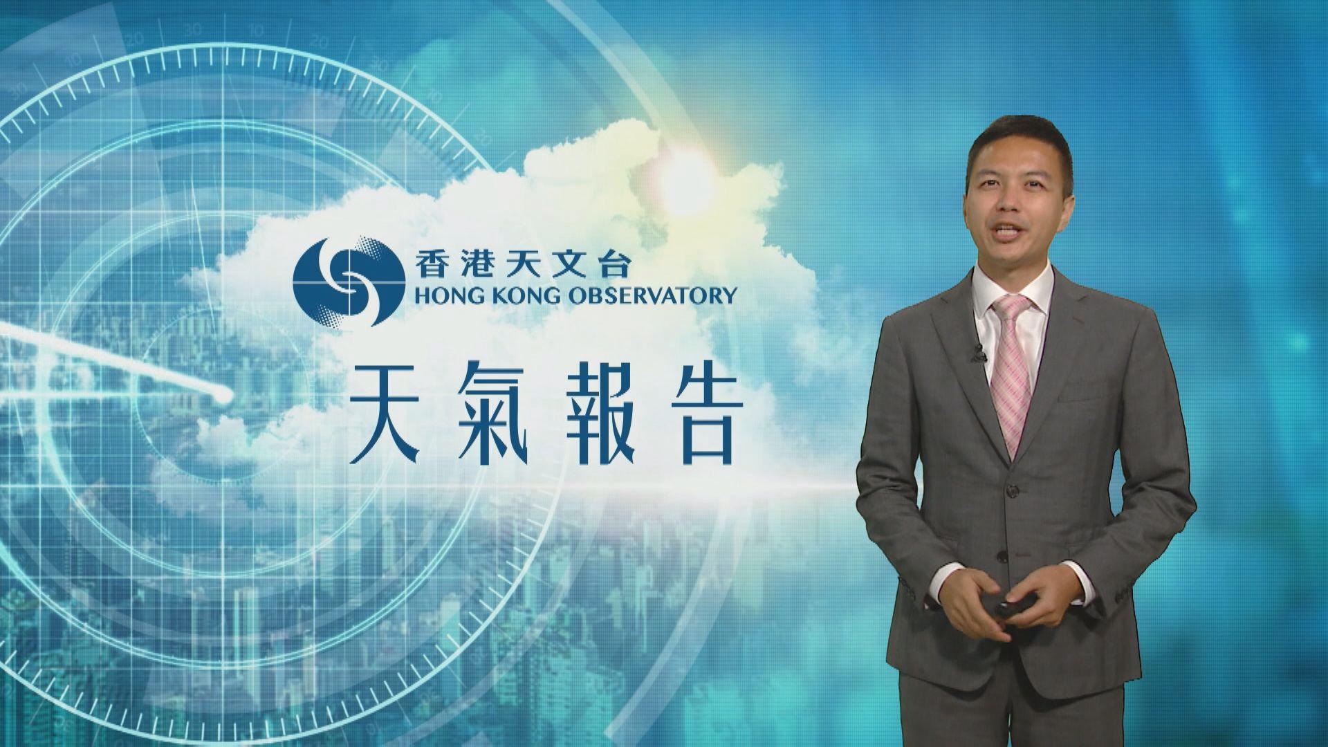 【天氣報告】(5月27日)
