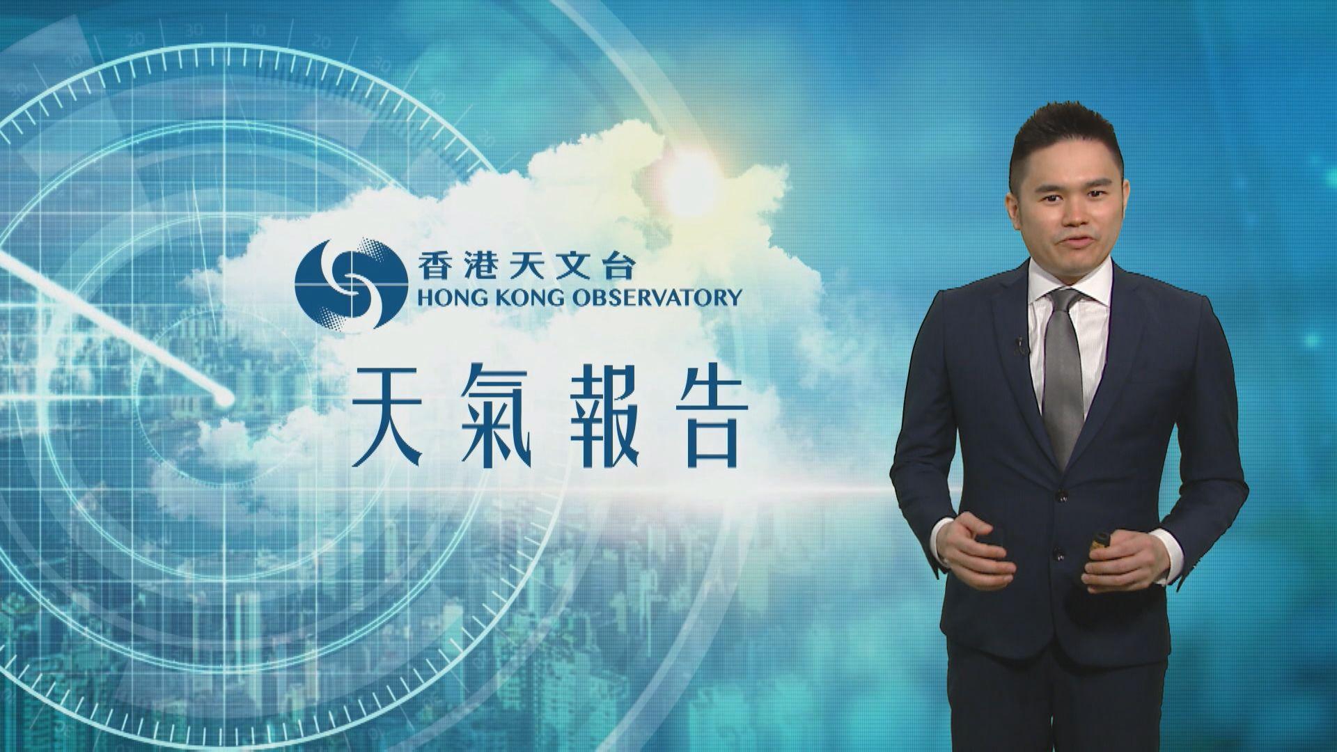 【天氣報告】(6月1日)