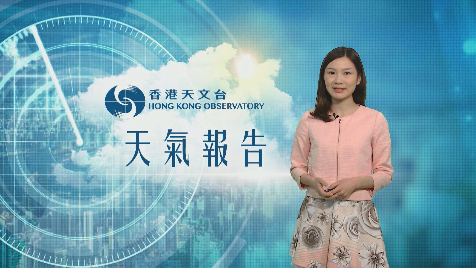 【天氣報告】(6月3日)