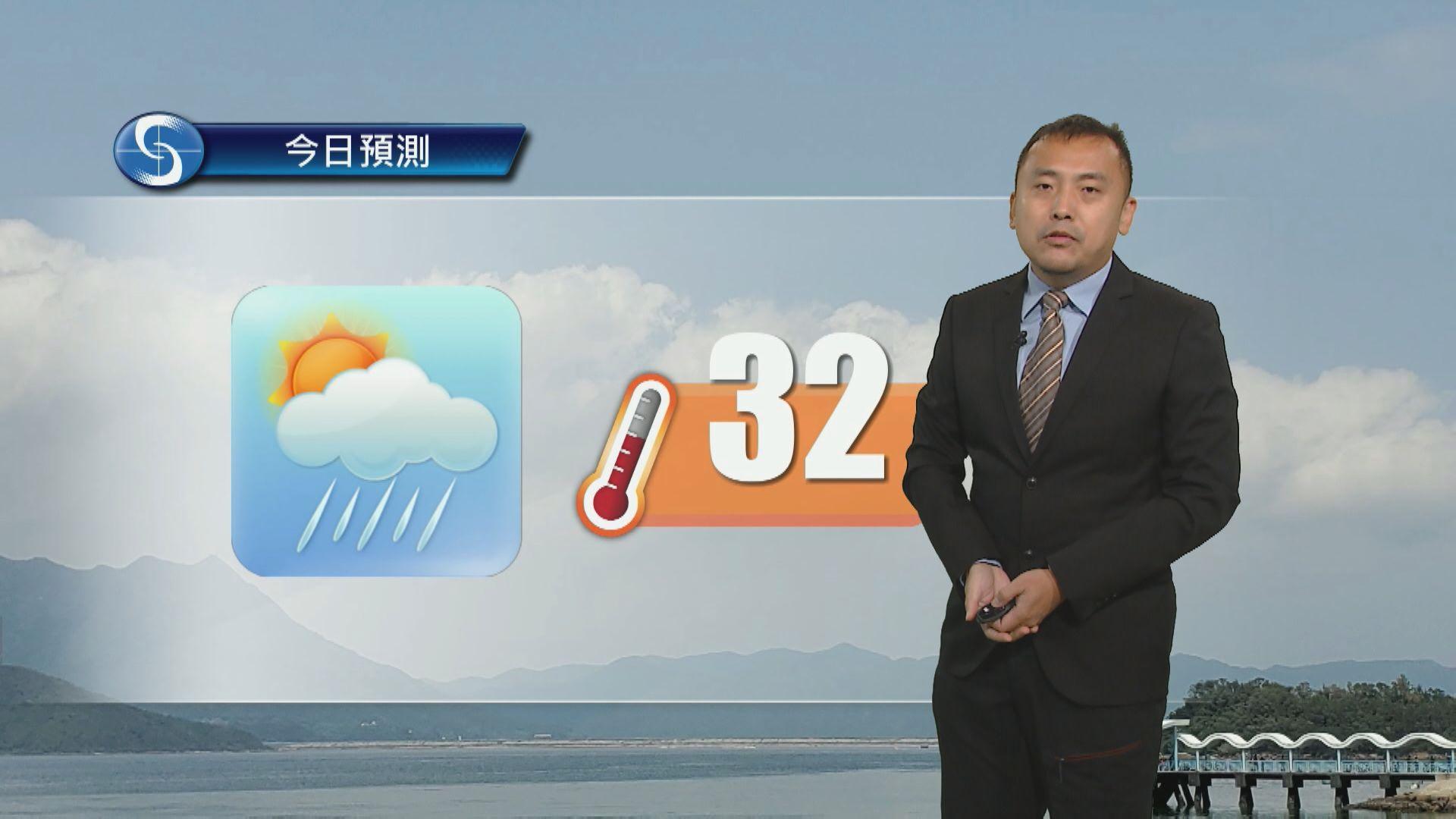 【天氣報告】(6月8日)