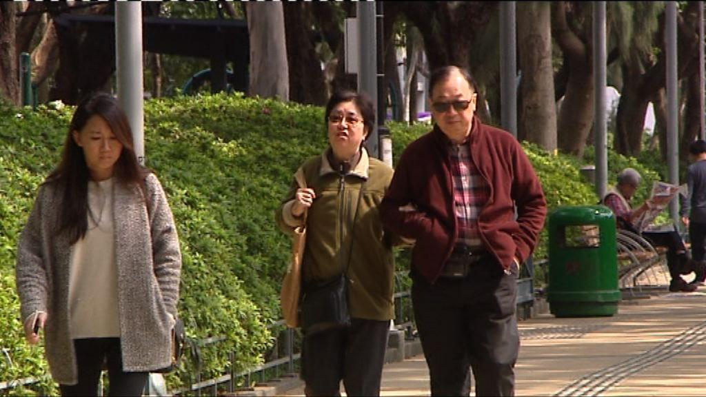 本港周日氣溫料跌至12度
