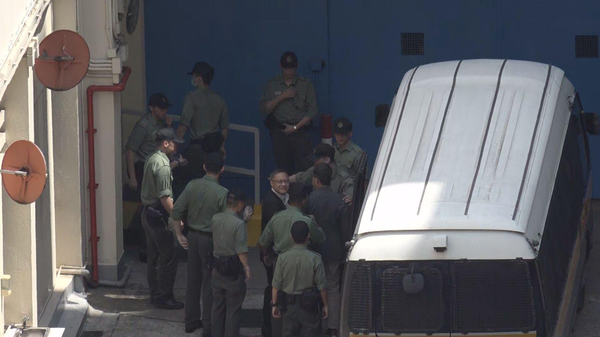 【佔中案】四名被告送到荔枝角收押所