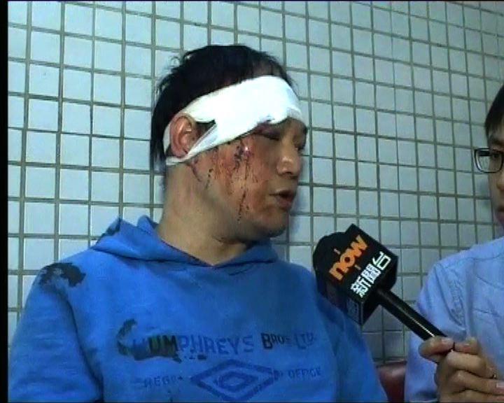 有受傷示威者到廣華醫院驗傷