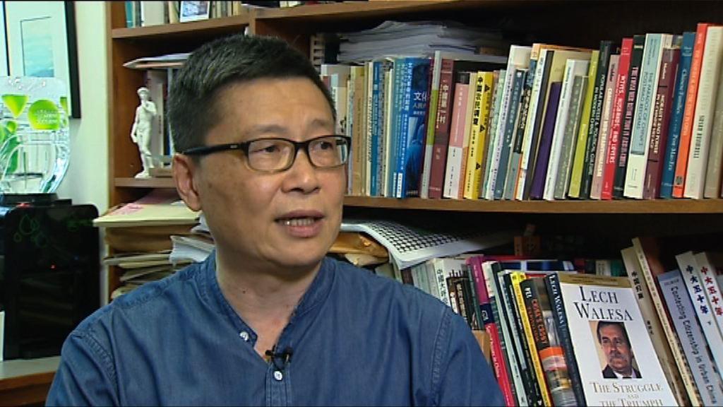 陳健民:堅持應以和平手段爭取民主