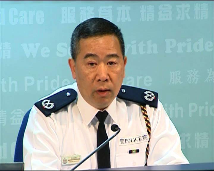 警稱909人被登記身分 籲勿重佔路面