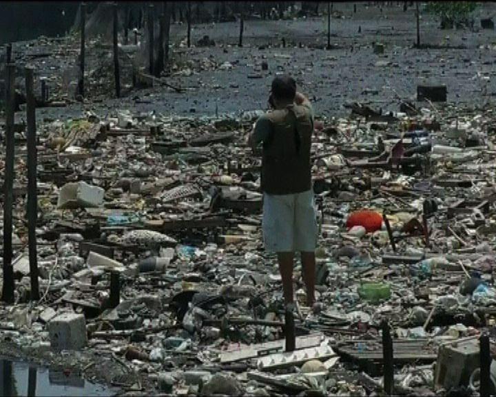 海洋塑膠垃圾多達27萬噸