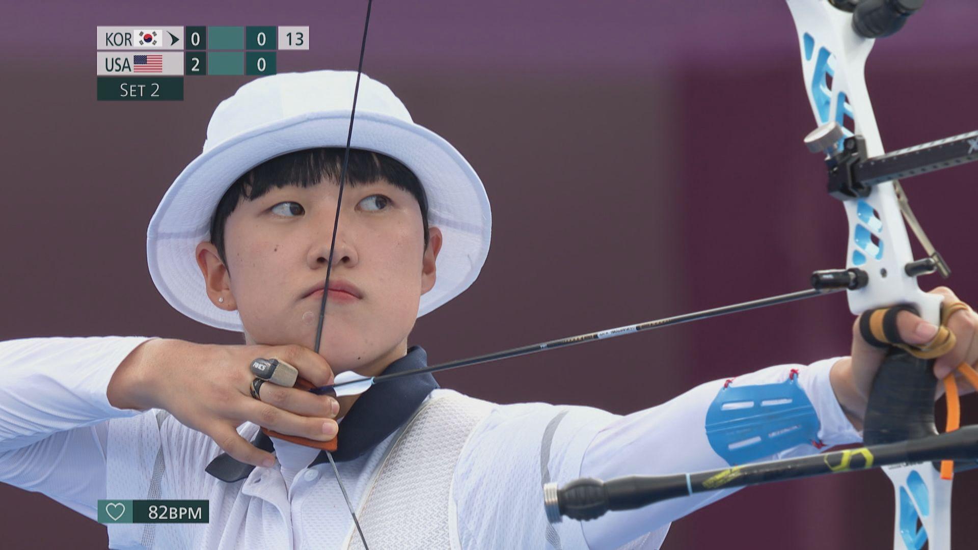 南韓女射箭手安山東奧奪三金 但因一頭短髮遭網民批評
