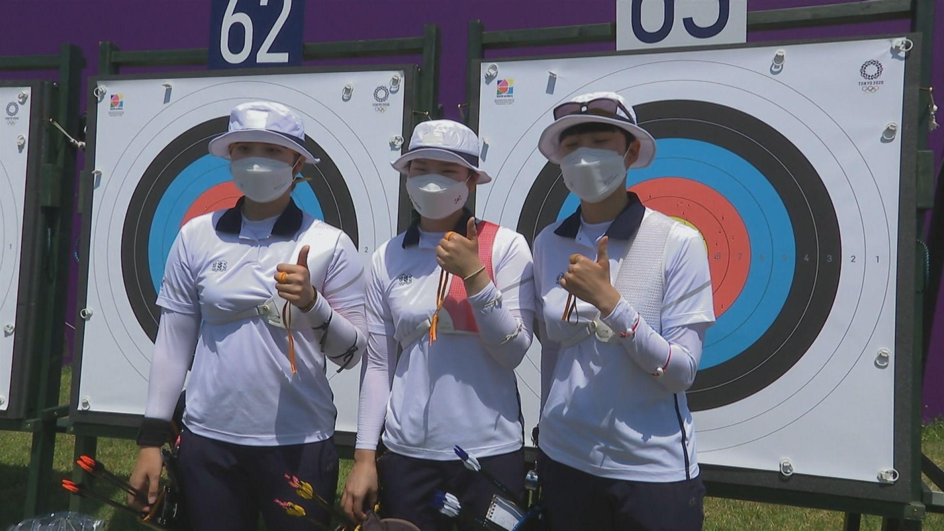 南韓三女將齊破奧運紀錄