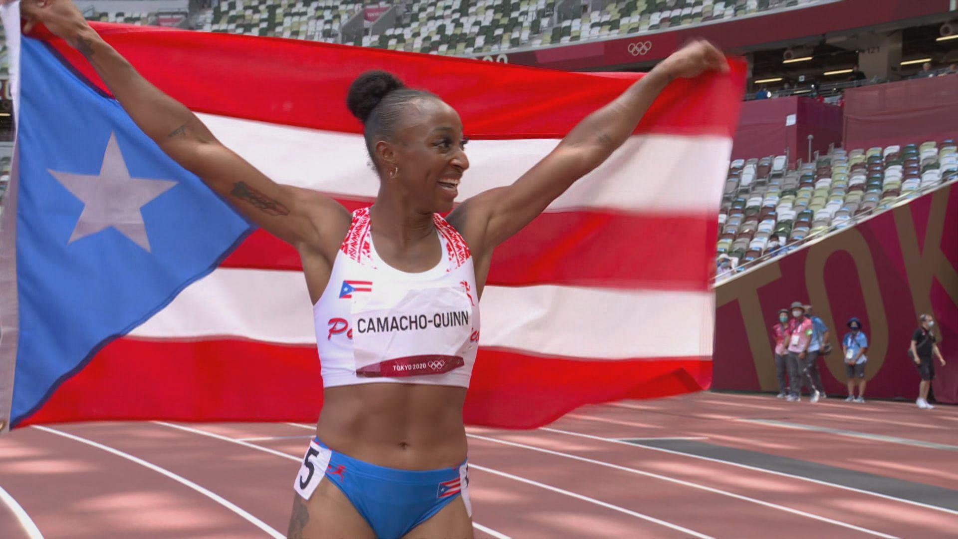 波多黎各今屆首金 女子100米欄卡馬曹昆恩奪冠