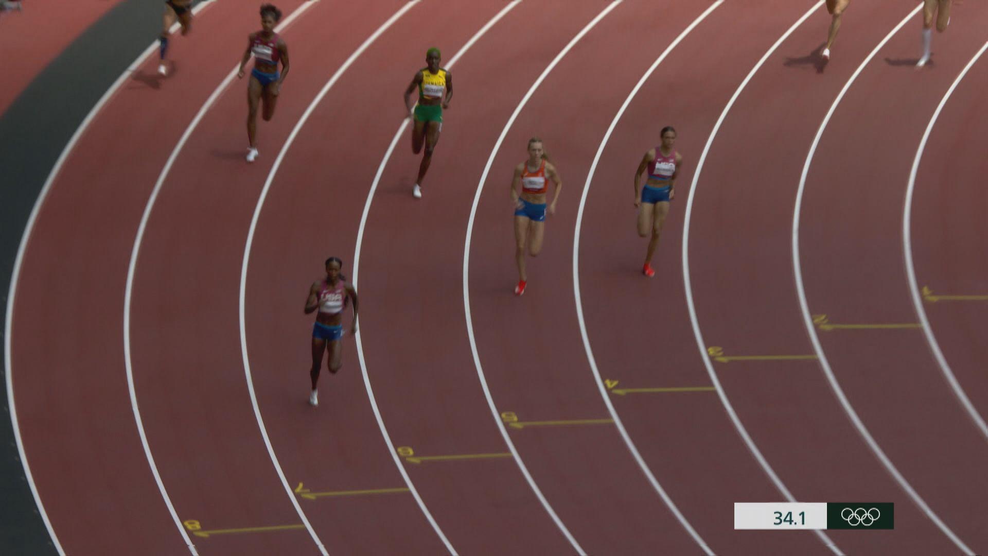 奧運田徑男子200米 加拿大迪加斯奪金