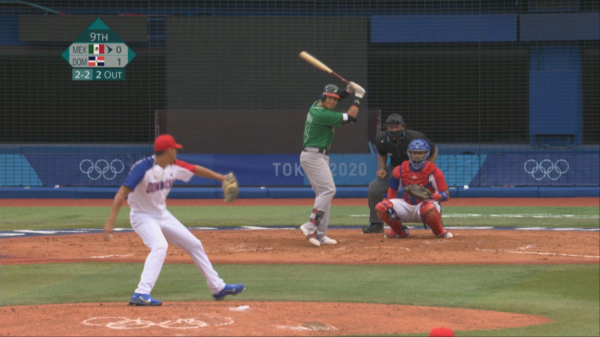 棒球分組賽 多明尼加1比0小勝墨西哥