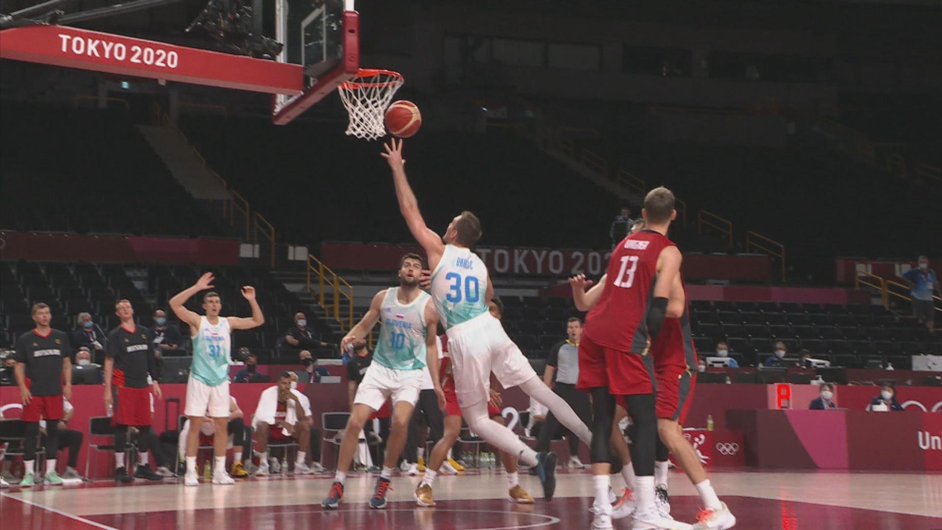 男子籃球八強 斯洛文尼亞94:70德國