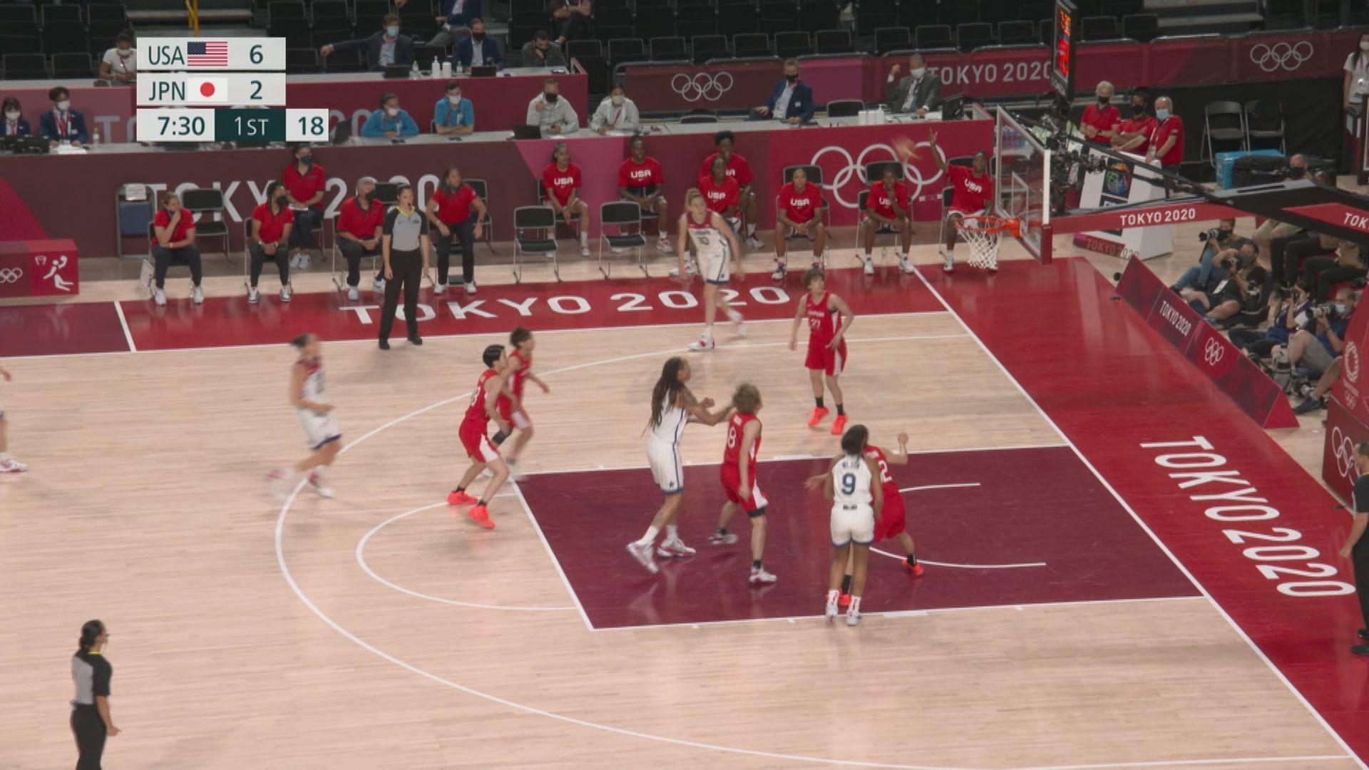 女籃決賽 美國90:75日本