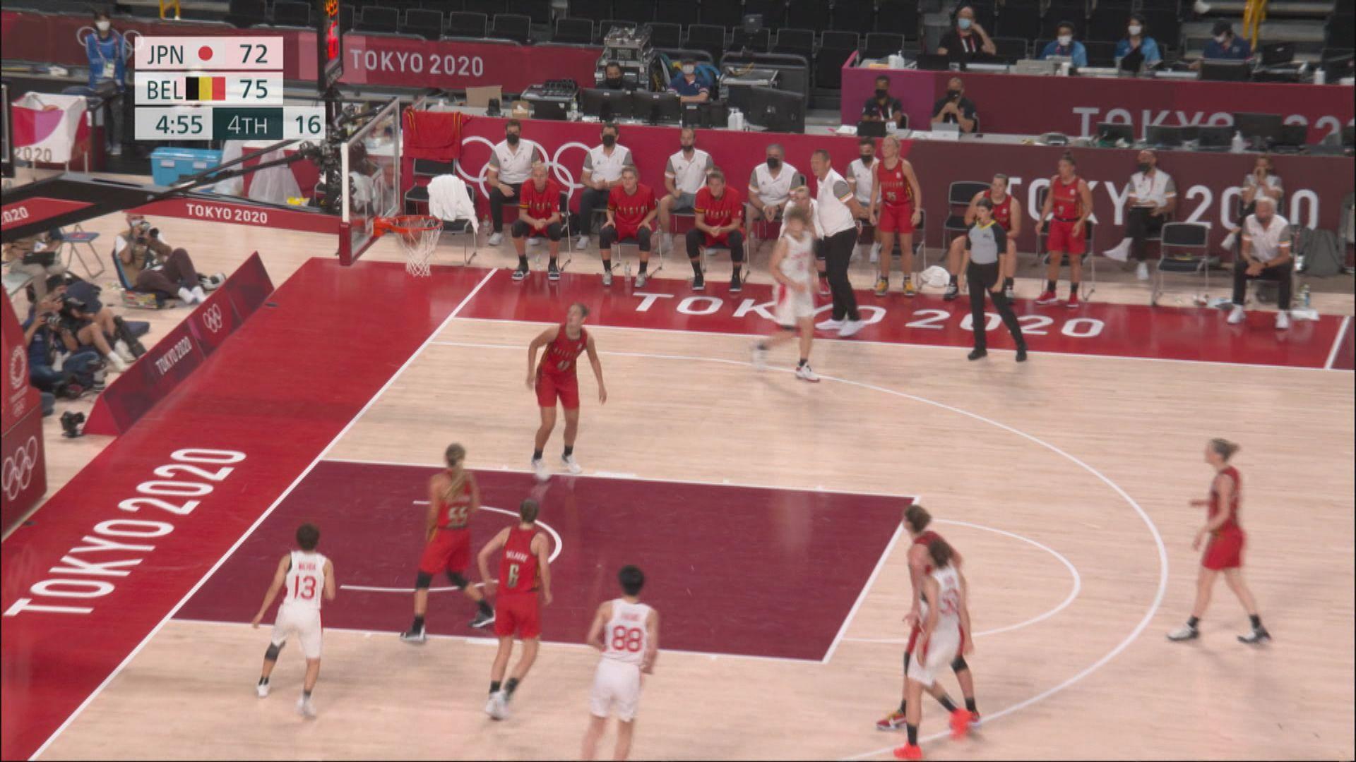 奧運女子籃球 中國70:77塞爾維亞