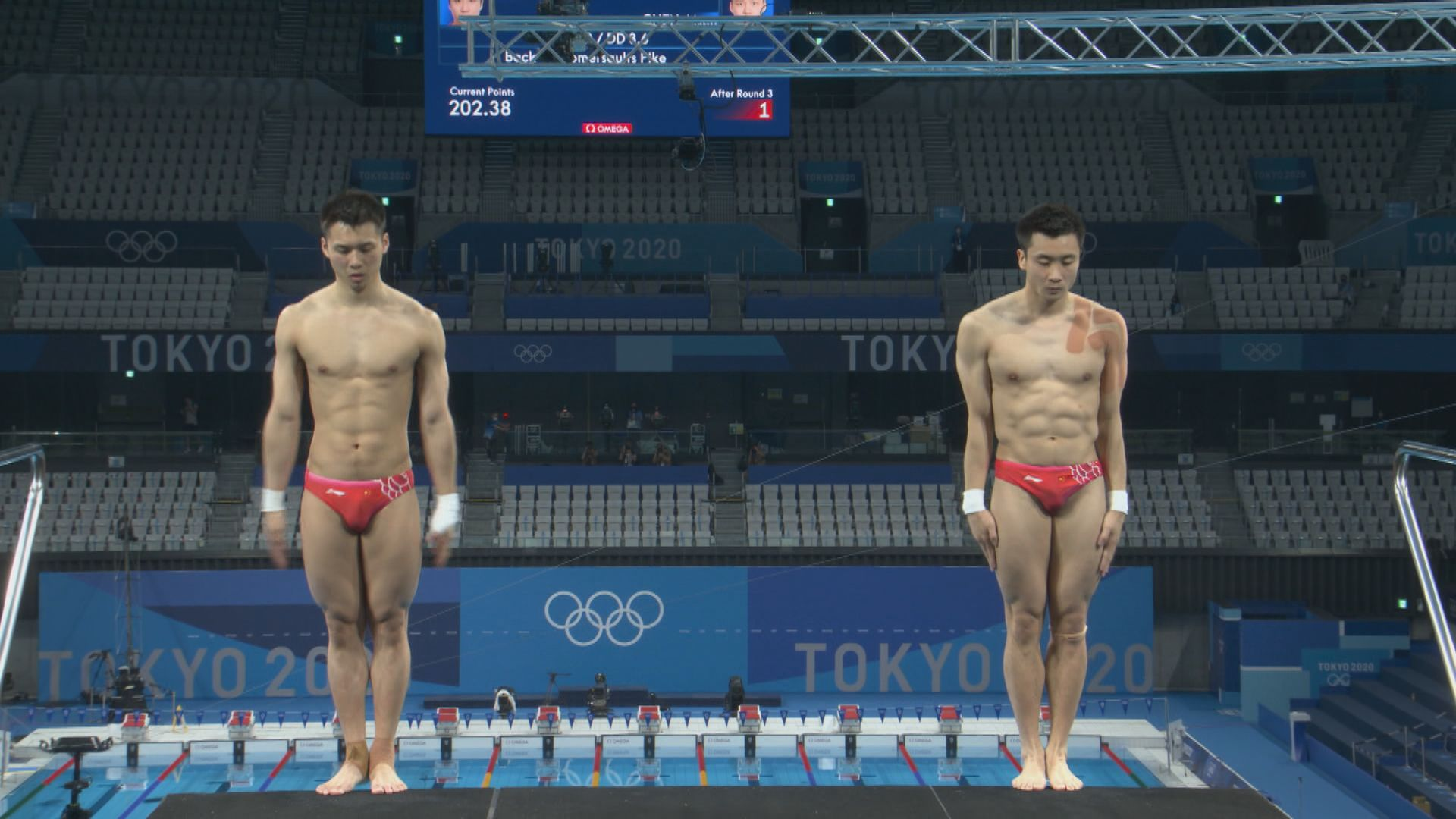 男子雙人十米高台跳水 國家隊不敵英國奪銀